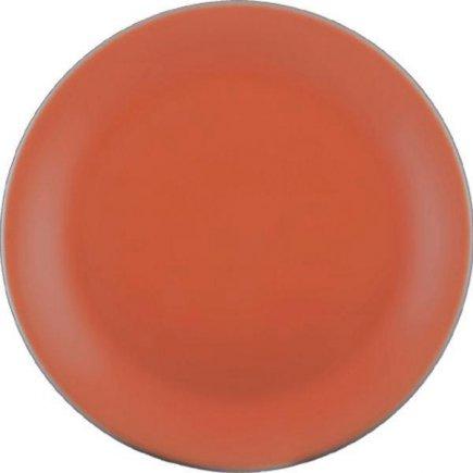 Sekély tányér Lilien Daisy 19 cm, lazac színű