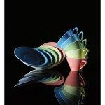 Sekély tányér 19 cm Daisy Lilien lazac színű