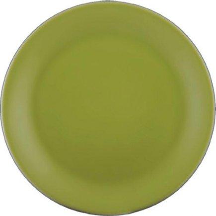 Sekély tányér Lilien Daisy 19 cm, zöld