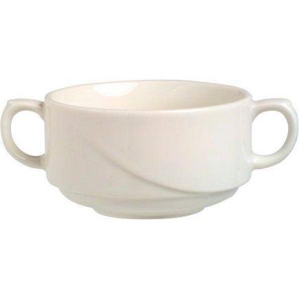 Leveses tál, egymásba rakható 0,27 l, porcelán, Luxor Fine Cream