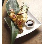 Négyzetes kis tál 10 cm 220 ml salátakra, kompótokra, East Meets West Maxwell