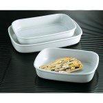 Sütőtál, ovális alakú 28x18,5 cm, porcelán, Cook, Tognana