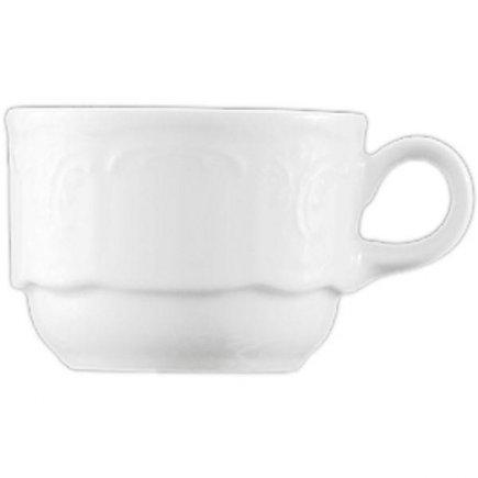 Egymásba rakható csésze 0,09 l porcelán, Bellevue