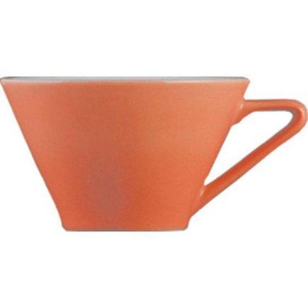 Kávéscsésze, cappuccinocsésze 0,18 l, megfelelő csészealj kiegészítő 221157099 Daisy Lilien lazacos szín