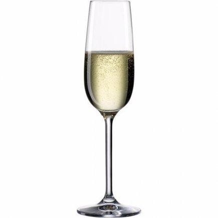 Pezsgős pohár Boheia Cristal Clara 190 ml