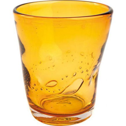 Üdítőitalos pohár 310 ml Samoa, borostyános