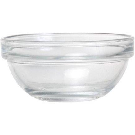 Gömbölyú üvegtál 9 cm 150 ml, egymásba rakható, Caps, Arcoroc