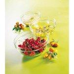 Gömbölyú saláta, kompót, müzli üvegtál 9 cm 150 ml, rakásolható, Caps, Arcoroc