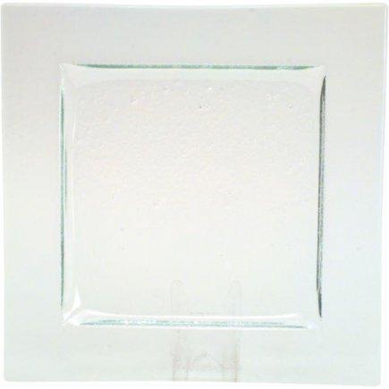Üveg tányér 26 cm, Gobi - Axum