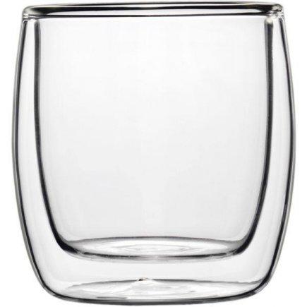 Duplafalú pohár Termo 110 ml, Luigi Bormioli