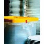 Szállítási és tárolási doboz Fries rack rendszer 40x40cm