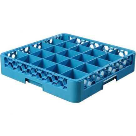 Alapvető mosogató kosár poharakra, 25 poharas, mosogatógépbe, szállításra, raktározásra - Carlisle
