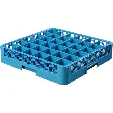 Alapvető mosogató kosár poharakra, 36 poharas, mosogatógépbe, szállításra, raktározásra - Carlisle