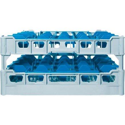 Pohármosogató kosár 25 db pohárra, 91x91 mm, poharakra ilios sz.3 - 222298004, Kit - Fries polcrendszer