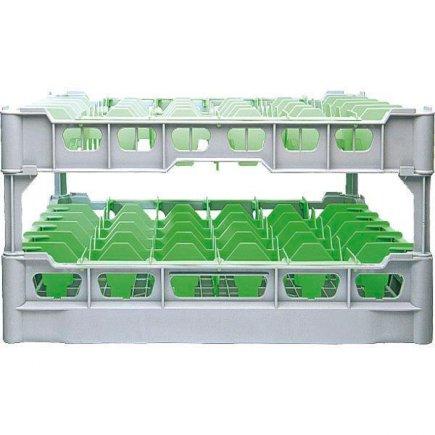 Pohármosogató kosár 20 db pohárra, 75x975 mm, poharakra ilios sz.4 - 222298006, Kit - Fries polcrendszer