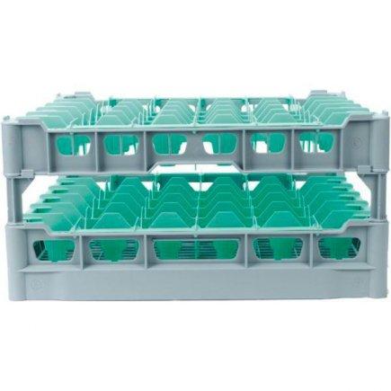 Pohármosogató kosár 36 db pohárra, 75x75 mm, poharakra ilios sz.6 - 222298009, Kit - Fries polcrendszer