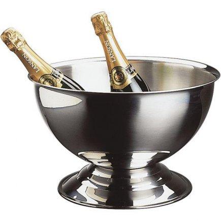 Pezsgőhűtő edény, pezsgő, rozsdamentes, APS