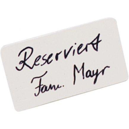 Asztali rezerváció - Reserve, návtábla tartó, 11x6,3 cm Seltmann