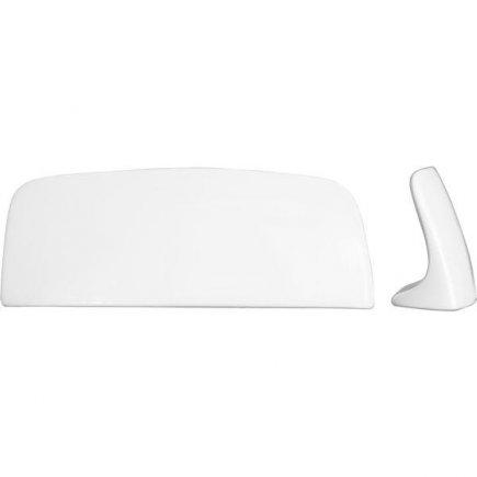 Asztali rezerváció - Reserve, návtábla tartó, 11,5x4,5 cm porcelán - Lilien