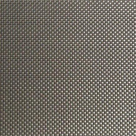 Asztalterítő PVC APS 45x33 cm, platina, széles csíkok