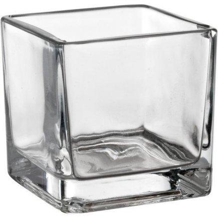 Dekoratív pohár/ üveg kocka Sandra Rich 5,5 cm