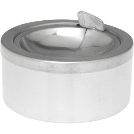 Kültéri hamutartó szélbe 11,5 cm, polírozott roszdamentes acél Contacto
