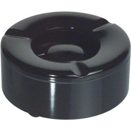 Kültéri hamutartó szélbe, műanyag, fekete, 10 cm Waca