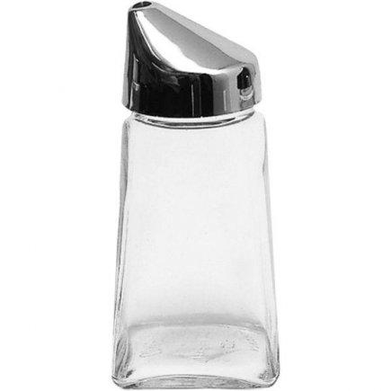 Cukortartó, üveges cukortartó - műanyag szögletes, 210ml, Gastro
