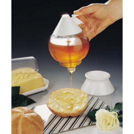 Méz adagoló, üveg, Fackelmann
