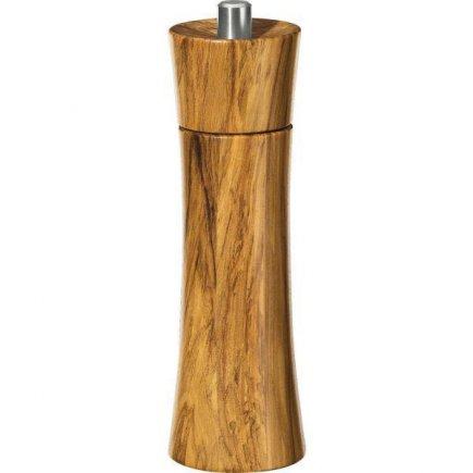 Fűszerdaráló, 18 cm, olajfa, minőségi termék, Franfurt modell, Zassenhaus