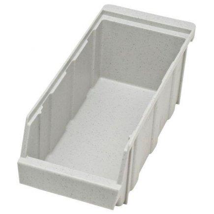 Műanyag evőeszköz tartó, 305x125x110, szürke, Cambro