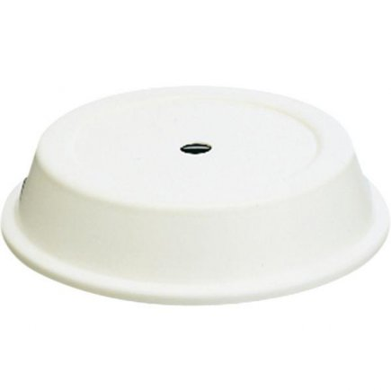 Tányér nyílásos fedő Hepp 26 cm, fehér