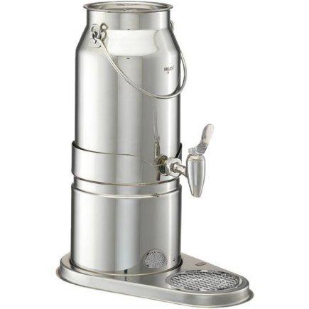 Adagoló - tej adagoló 5 l, rozsdamentes, leeresztő szelep, Elegance - Frilich