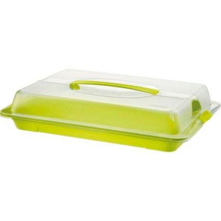 Műanyag élelmiszer tároló doboz, piknik, 44x29,5 cm, John - Rotho