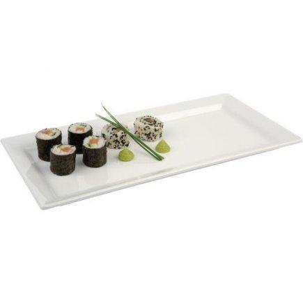 Felszolgáló tálca téglalap alakú APS melamin 30x21 cm fehér