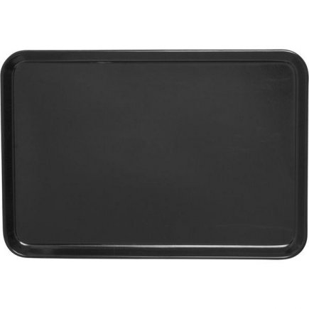 Tálca melamin Waca 24x18 cm fekete