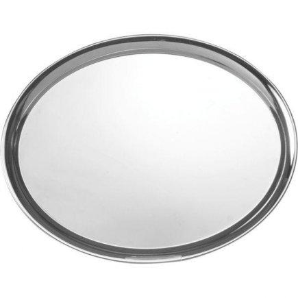 Felszolgáló tálca Gastro ovális 28,5x22 cm rozsdamentes fényes
