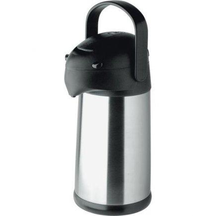 Pumpás termosz Helios Pipe 2500 ml