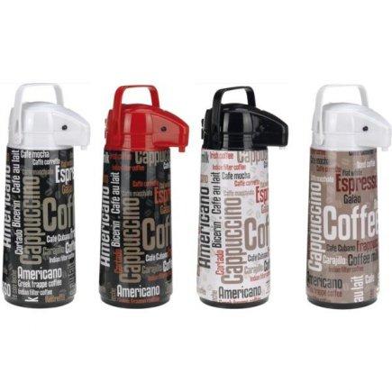 Pumpás termosz Airpot 1900 ml, különböző dekorral