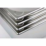 Gastro edény GN 1/3, 176x325 mm, rozsdamentes acél, m=200 mm, APS