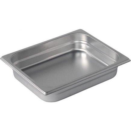 Gastro edény GN 1/2 265x325 mm, rozsdamentes acél, m=200 mm - Pujadas