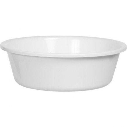 Kemény műanyag tál Gastro 7,5 l, fehér