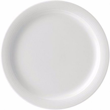 Sekély tányér Bauscher System 25,5 cm, fehér