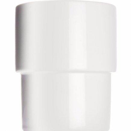 Asztali szemetes kosár Walküre 13 cm, porcelán, fehér