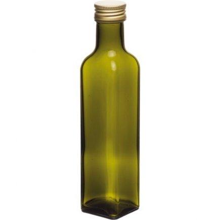 Maraska palack 250 ml, csavarós kupakkal, zöld