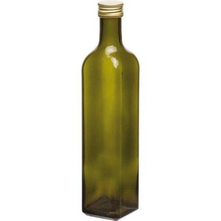 Maraska palack 500 ml, csavarós kupakkal, zöld