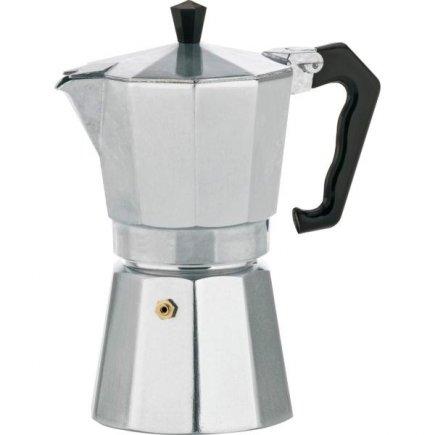 Presszó kávéfőző, Aluminium Classico, 9 adag