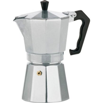 Presszó kávéfőző, Aluminium Classico, 6 adag