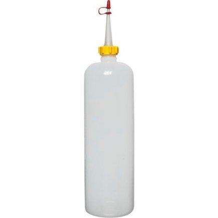 Nyomós adagoló palack Schneider 1000 ml, átlátszó