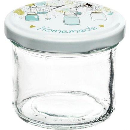 Befőző tégelyek Gastro 120 ml 6db, fedél Homemade